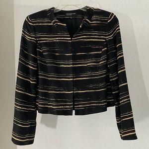 Jones New York Linen Blend Long Sleeve Jacket 4